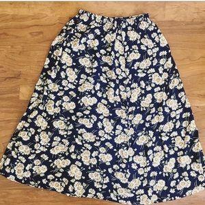 Daisy floral boho girly skirt